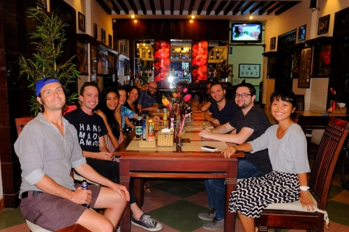 International meeting of couchsurfing